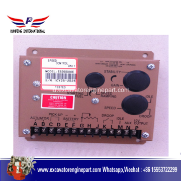 Generator Spare Part Speed ​​Controller Unit ESD5500E