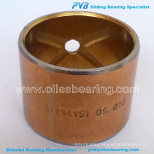 BIMETAL KING PIN BUSH,ADP. No.180345M1 BUSHING,35.0X31.6X37.97 Item Code 24432055/No.WB004 BEARING