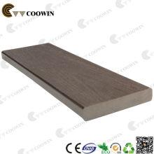 Decking plástico da madeira do composto WPC da madeira maciça