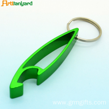 Custom Shaped Bottle Openers With Keychain
