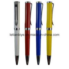 Nouveaux fabricants de stylo à bille à rotation en métal en Chine (LT-D008)