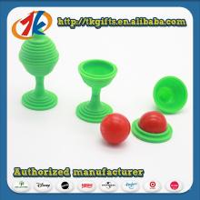 Lustige Gehirn Teasers Plastic Magic Ball Spielzeug für Kinder