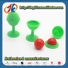 Funny Brain Teasers Plastic Magic Ball Toy for Kids