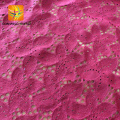 3d flower lace wedding dress fabric