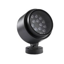Luminária LED inteligente para exterior com paisagem