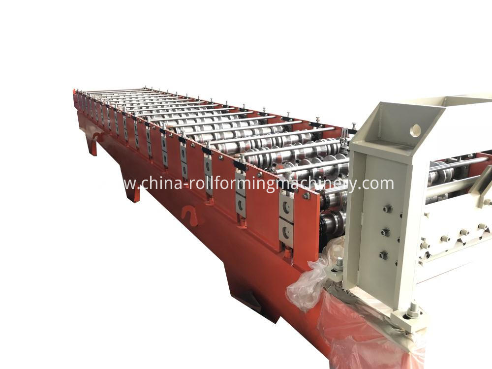 G550 Indonesia 750 roll forming machine