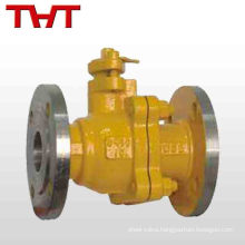 butterfly brass ceramic lined ball valve for natural gas