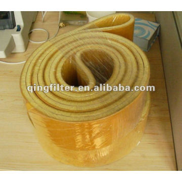 NOMEX felt belt dust filters