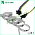 Digital 12Vdc 12 mm de ancho digital LED tiras flexible impermeable tira led 5050 direccionable rgb tira llevada
