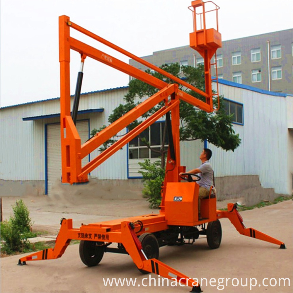 Trailer Mounted Boom Lift