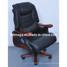 Fabricación de cuero giratorio Director silla de oficina Foh-1237