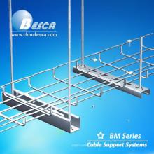 Fabricante de aluminio de la bandeja de cable de la malla de alambre de China