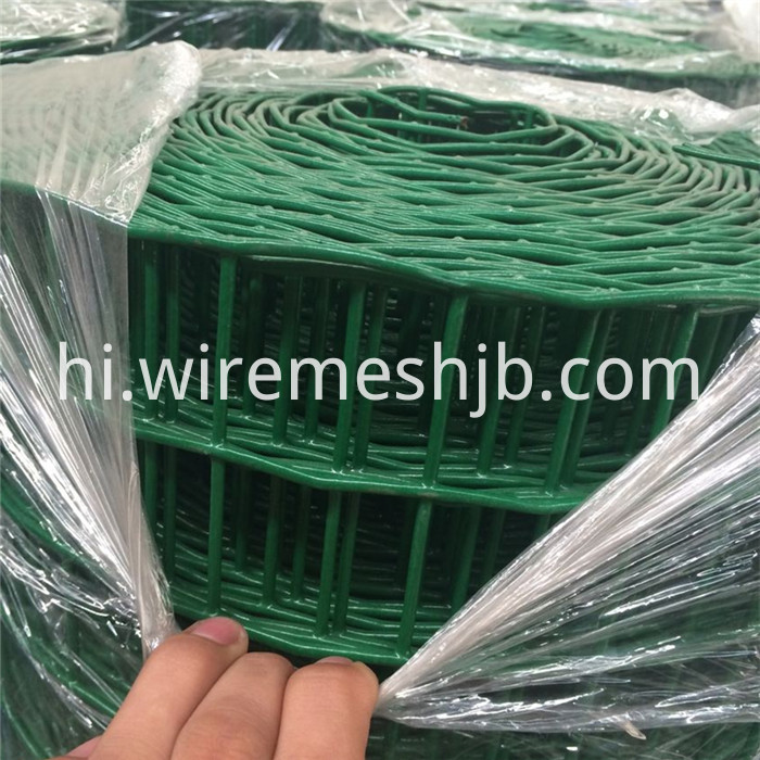 PVC Coated Weld Wire Fencing