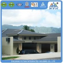 Bien conçu, une villa préfabriquée moderne moderne et confortable