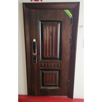 Walnut Latest Design Wooden Interior Room Door