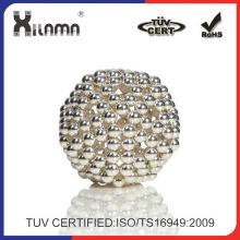 Imán de neodimio más Popular esferas de 3 mm 5mm bola del imán