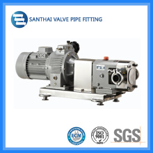 Stainless Steel Rotor Lobe Pump with Frequency Controller