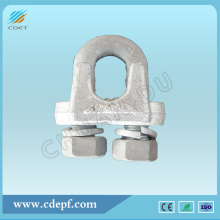 China OEM for Wire Rope Fittings Transmission Line Fitting Guy Clips (Type JK) supply to Zimbabwe Wholesale