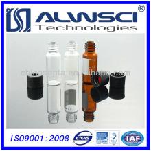 2 ml 8-425 ámbar vial cromatografía vidrio ámbar Vial 12x32mm HPLC consumible