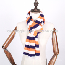 100% cashmere knit scarf for children
