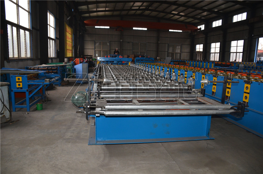 Jubin Roofing Glazed Making Machine