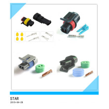 Connecteur imperméable électrique de Pin du câble 2 des véhicules à moteur d'usine de la Chine