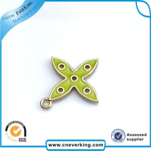 China Wholesale Metal Material Company Name Badge