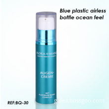 100 Ml Blue Airless Bottles