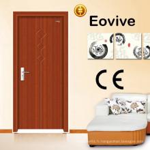 porte intérieure en bois enduit pvc