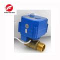 Robinet à tournant sphérique électrique de 12v CR01 dn15 ss304 CWX-25S 2.5nm