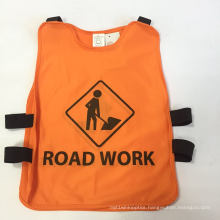 Safety Vest for Children, Made of Knitting Fabric