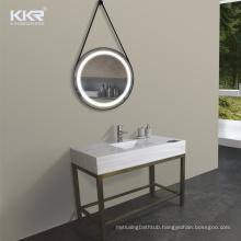 Bathroom Vanities Modern Three-Piece Solid Surface Stone Bathroom Vanity Set