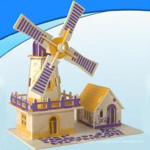 Деревянная игрушка блоков образования (H9192043)