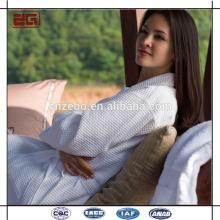 Оптовая Розовый элегантный цвет кимоно 100% Хлопок Велюр Халат
