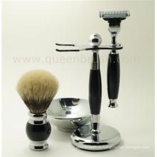 Лучший набор для бритья силиконовой ручки для волос от Барсука Лучший выбор для Private Label