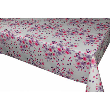 Laminated Pvc Tablecloth with Non-woven Back