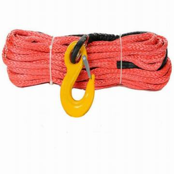 Red Synthetic Winch Rope