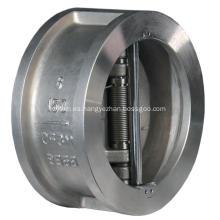 Válvula de retención de placa doble Wafer