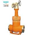 Механизм работы запорного клапана с уплотнением давления