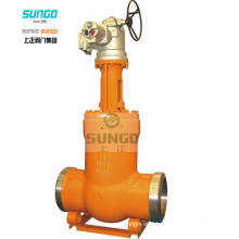 Cast Steel Gate Valve Gear Operation