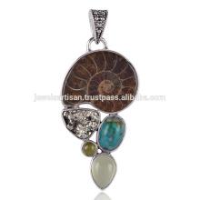 Kaufen Sie die beste Kombination aus Ammonit, Türkis, Pyrit und anderen Steinen