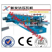 Fabrik Standing Seam Galvanisierte Stahl Streifen Z Purlin Roll Forming Machinery