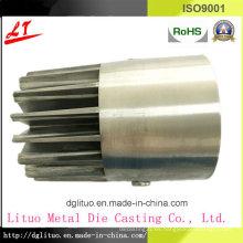 Hardware duradero Piezas de base de disipador de calor de fundición de aluminio