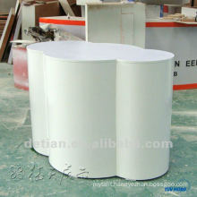 Fashionable high quality wooden reception desk,circular reception desk from Shanghai