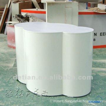 Fashionable high quality wooden reception desk,circular reception desk from Shanghai