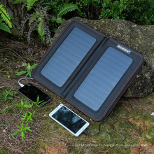 ECEEN Brand High Efiiciency Outdoor Traveling 13W Chargeur de panneau solaire