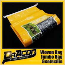 High Quality Animal Feed BOPP Woven Bag (W-1070)