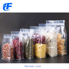 Food Packaging Ziplock Flat Bottom Coffee Bag