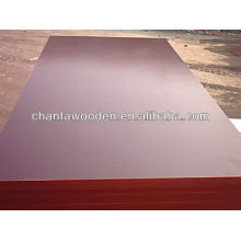 Linyi 16mm / 18mm marrón dynea película de madera contrachapada para el mercado de Pakistán