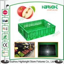 Zusammenklappbare Gemüse-Plastikkastenkästen